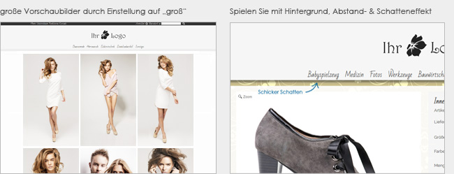 Responsive Shopsoftware Shopsystem